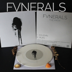 "FVNERALS ‎– The Path 7"" Gatefold LP (white vinyl) 2016"
