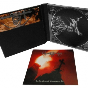 Nokturnal Mortum ‎– To The Gates Of Blasphemous Fire digbook-CD 2016