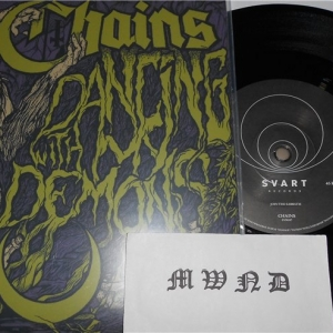 "Chains ‎– Dancing With My Demons 7"" EP 2013"