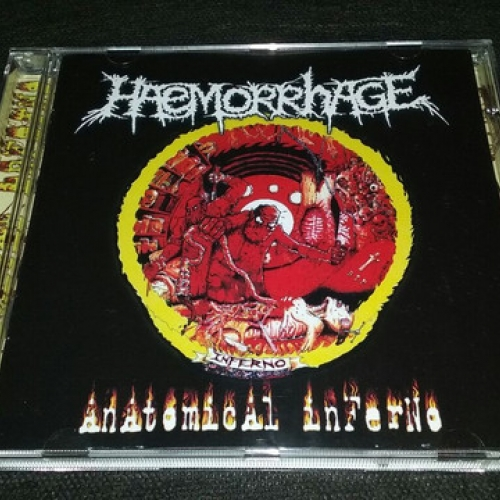 Haemorrhage ‎– Anatomical Inferno CD 2017