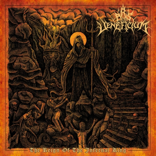 "Ars Veneficium ‎– The Reign Of The Infernal King 12"" LP 2016"