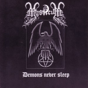 Mysticum ‎– Demons Never Sleep CD