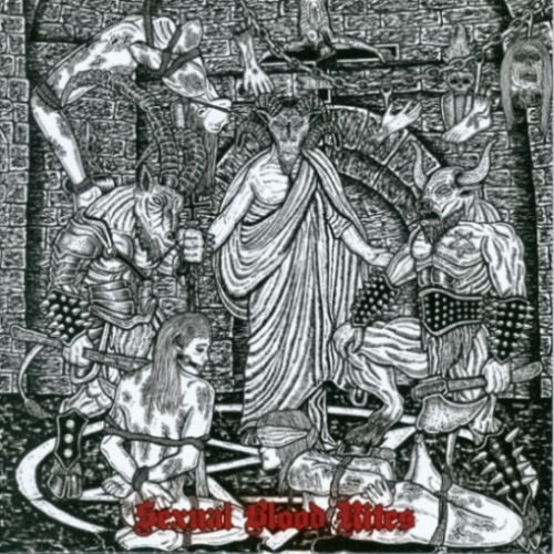"Ungod / Sacrilegious Rite ‎– Sexual Blood Rites 7"" EP 2011"