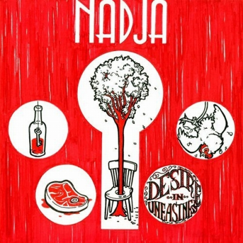 Nadja ‎– Desire In Uneasiness CD 2008