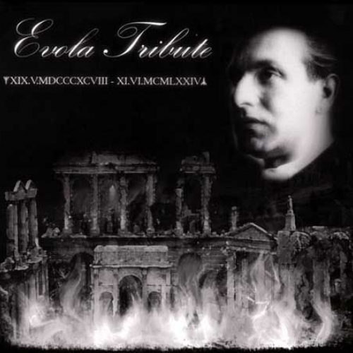 Various ‎– Evola Tribute - The Spirit Of Europe digiCD 2009