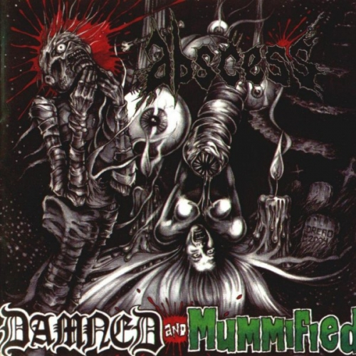 Abscess ‎– Damned And Mummified CD 2004