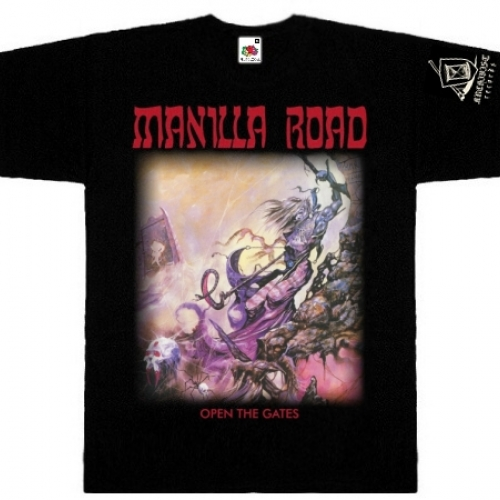 MANILLA ROAD - Open The Gates T-shirt
