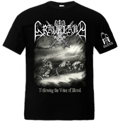 "GRAVELAND ""Following the Voice of Blood"" t-shirt"