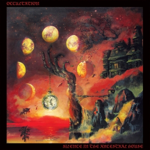 "Occultation ‎– Silence In The Ancestral House 12"" LP 2014 (black)"