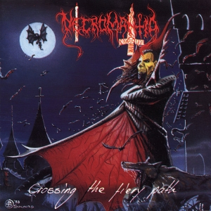 Necromantia ‎– Crossing The Fiery Path CD 1993