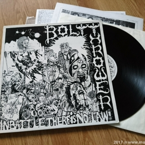 "Bolt Thrower ‎– In Battle There Is No Law! 12"" LP 2011"