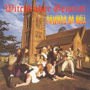 Witchfinder General ‎– Friends Of Hell CD 2010