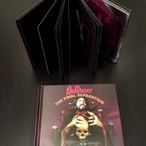 Bulldozer ‎– The Final Separation digibook CD 2017