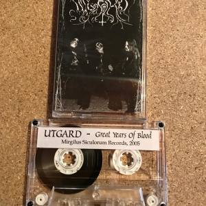 Utgard ‎– Great Years Of Blood cassette 2005
