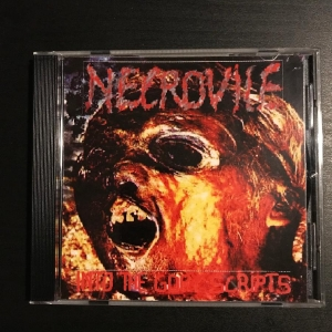 Necrovile ‎– Into The Gory Scripts CD-R 2003