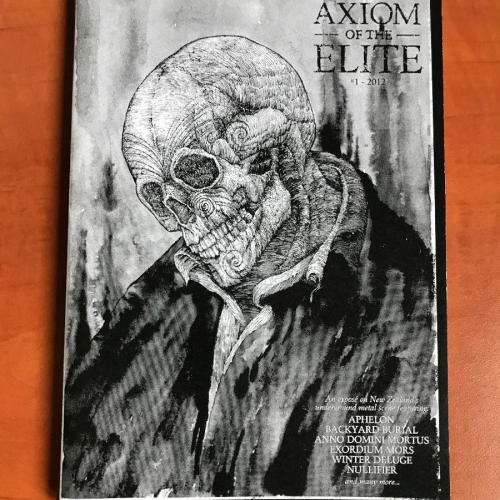 Axiom of the Elite zine #1 2012