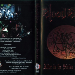 Blood Storm ‎– Alive In The Sirian Death Raid DVD 2006