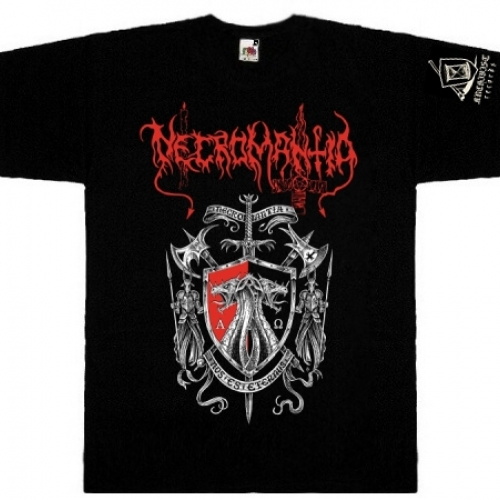 NECROMANTIA - Hellenic Black Cult t-shirt