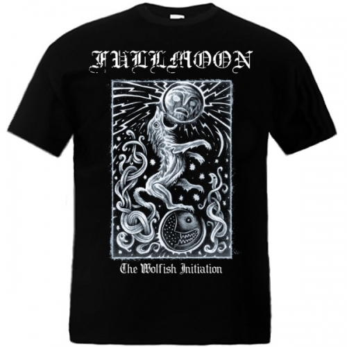 "FULLMOON ""The Wolfish Initiation"" t-shirt"