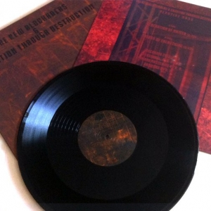"The New Blockaders & Creation Through Destruction ‎– Negative Mass 12"" LP 2014"