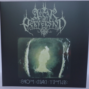 "Altar Of Perversion ‎– From Dead Temples (Towards The Ast'ral Path) 12"" LP + 7"" EP 2019"