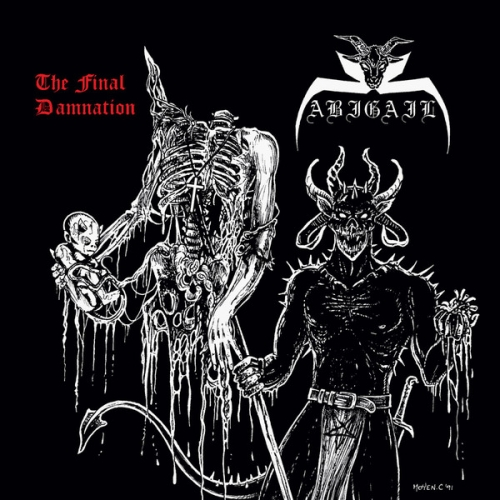 "Abigail ‎– The Final Damnation 12"" LP 2016"
