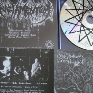 Cruciamentum ‎– Convocation Of Crawling Chaos CD 2011