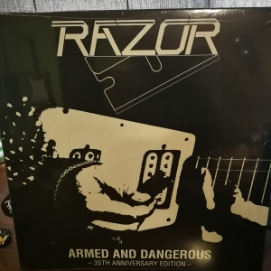 "Razor - Armed And Dangerous 12"" LP 1984/2019"