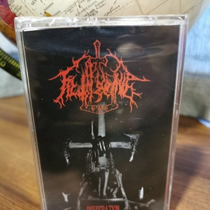 Filthgrave ‎– Desecration cassette 2018 (red)