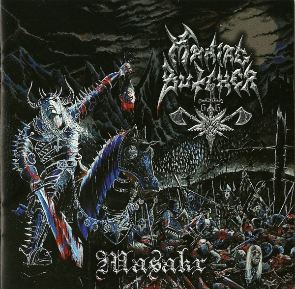 Maniac Butcher ‎– Masakr CD 2010