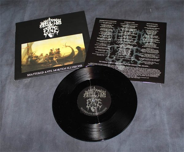 "Affliction Gate ‎– Shattered Ante Mortem Illusions 10"" LP 2014"