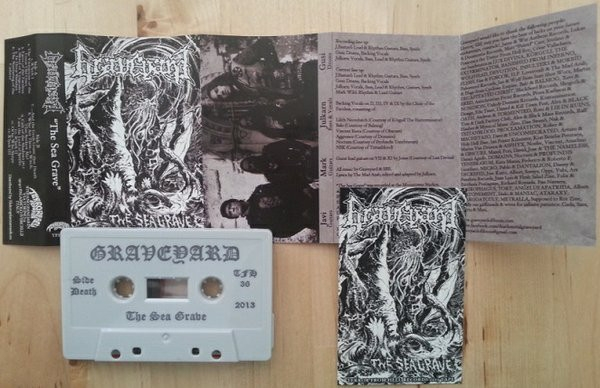 Graveyard ‎– The Sea Grave cassette 2013