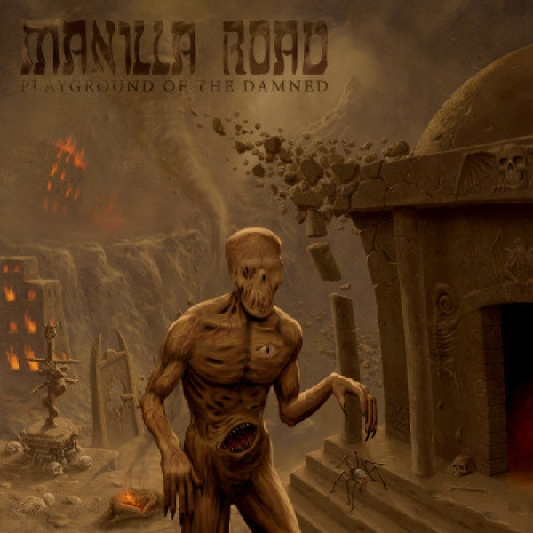 Manilla Road ‎– Playground Of The Damned CD 2011