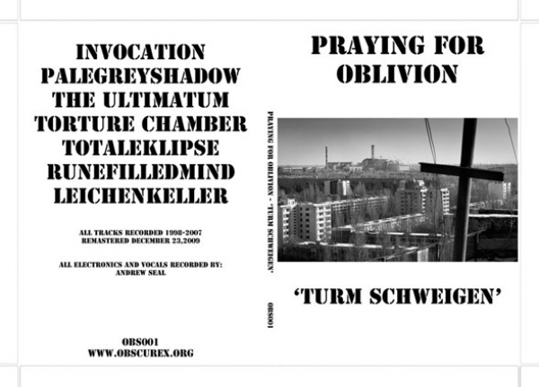Praying For Oblivion ‎– Turm Schweigen CD 2010