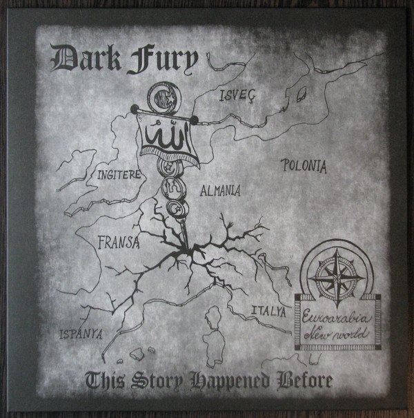 "Dark Fury ‎– This Story Happened Before 12"" LP 2016"