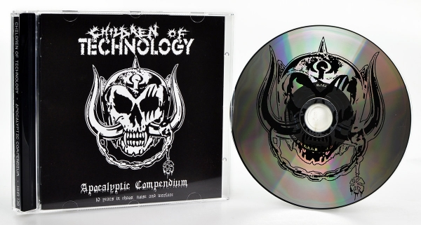 Children Of Technology ‎– Apocalyptic Compendium - 10 Years In Chaos, Noise And Warfare CD 2017