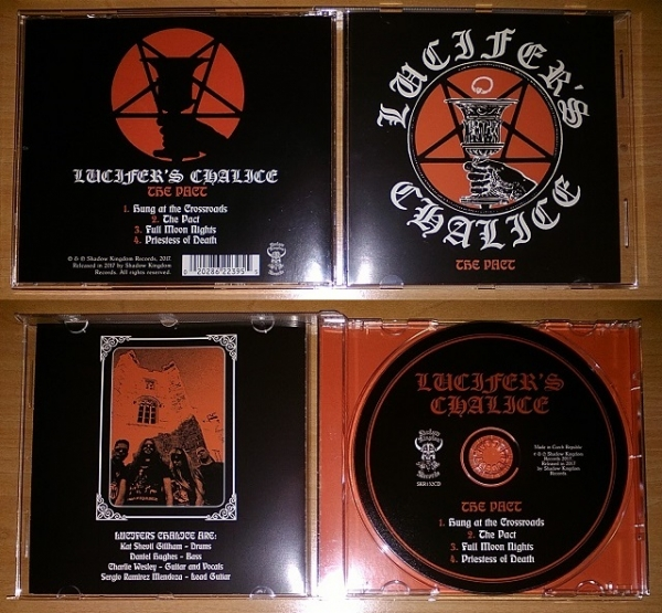Lucifer's Chalice ‎– The Pact CD 2017