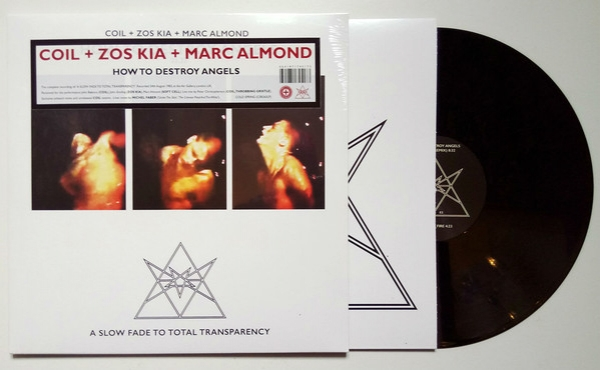 "Coil + Zos Kia + Marc Almond ‎– How To Destroy Angels 12"" LP 2018"