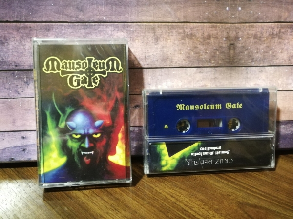 Mausoleum Gate ‎– Mausoleum Gate cassette (blue)