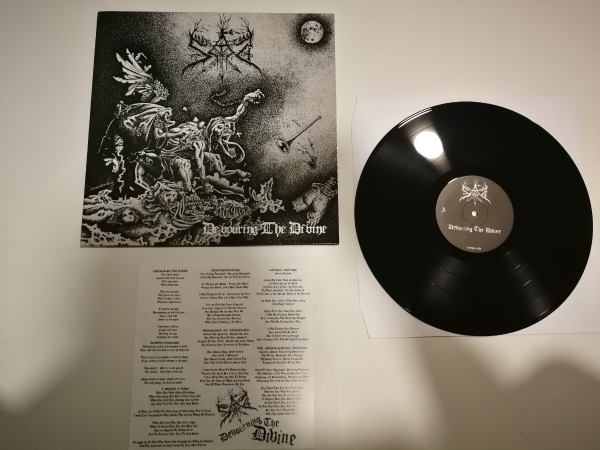 "Sad - Devouring the Divine 12"" LP 2013"