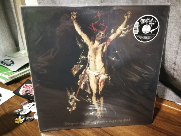 "Profanatica - Disgusting Blasphemies Against God 12"" LP 2007 / 2018"