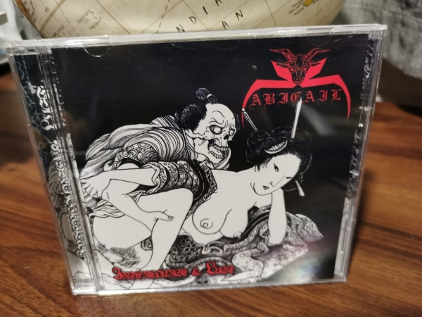 Abigail - Intercourse & Lust CD 1996/2018